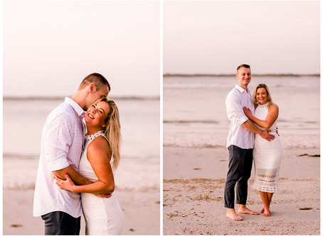 A Bowditch Point Park Engagement Shoot | Indiana Wedding Photographer | Fort Myers Florida