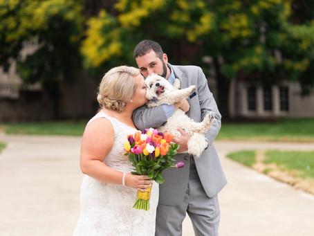 Purdue Memorial Union Wedding | Indianapolis Wedding Photographer | Brad & Molly