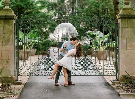 Newfields Engagement Session | Indianapolis Wedding Photographer | Josh & Morgan