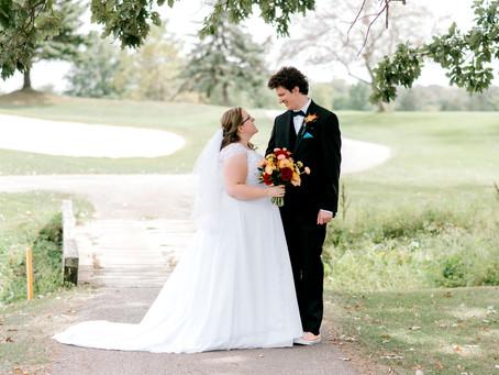 A Cardinal Room Wedding | Indianapolis Wedding Photographer | Chris & Sydney