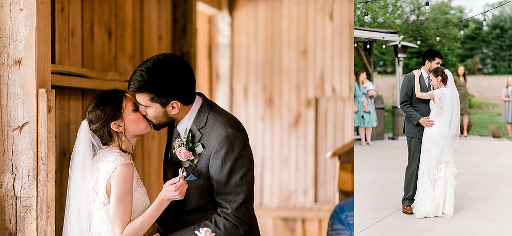 wedding couple reception