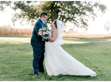 A Romantic Fall Wedding  | Indiana Wedding Photographer | Jake & Sarah