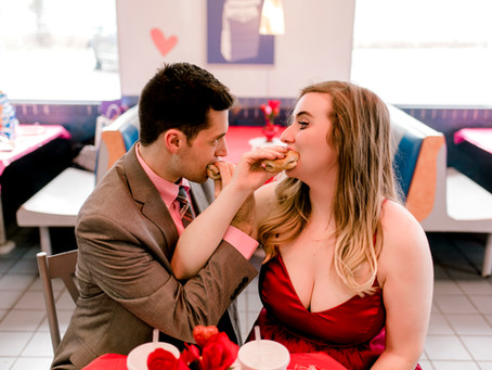 White Castle Valentines | Indianapolis Wedding Photographer | Victor and Chelsea