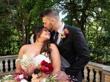Laurel Hall Wedding | Indianapolis Wedding Photographer | Jeremy & Lessika