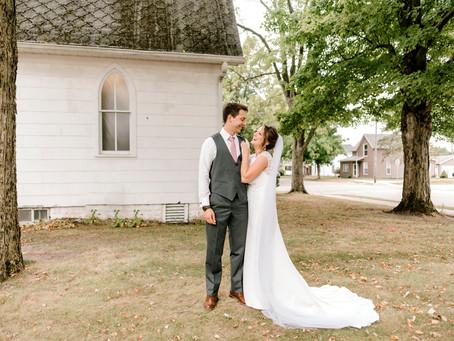 A Northern Indiana Wedding | Indiana Wedding Photographer | Josh & Morgan