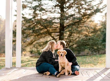A Mustard Seed Gardens Engagement Session | Indianapolis Wedding Photographer | Oscar & Emily