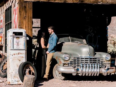 Nevada Engagement Session | Indianapolis Wedding Photographer | Matt and April