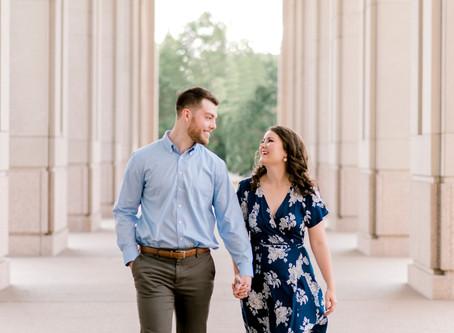Indianapolis Canal Walk Engagement Session | Indianapolis Wedding Photographer | David & Gabby