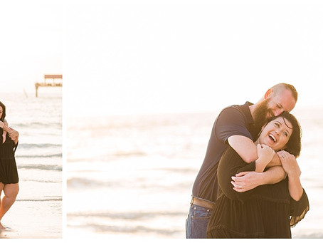 A Clearwater Beach Couples Session | Florida Wedding Photographer | John & Alicia