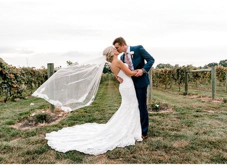 A Vineyard Wedding  | Indiana Wedding Photographer | Christian & Heather