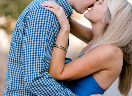 A Holiday Park Engagement session | Indianapolis Wedding Photographer | Christian & Heather