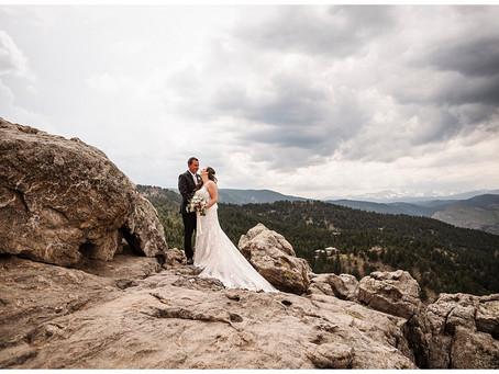 A Colorado Destination Wedding    Indiana Wedding Photographer   Hilary & Nate