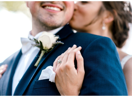 An intimate home wedding  | Indiana Wedding Photographer | Riley & Jen