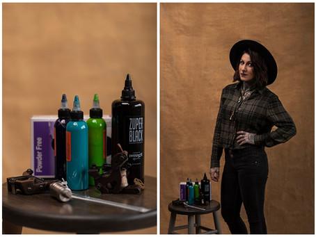 Its A Man's World | Lainy - Tattoo Artist | Indiana Portrait Photographer