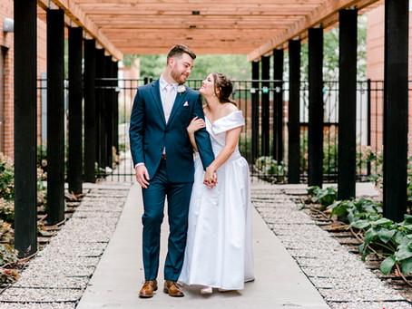 A Historic St Joseph Hall Wedding | Indiana Wedding Photographer | David & Gabby