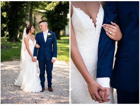 A Home Town Wedding    Indiana Wedding Photographer   Ethan & Whitney