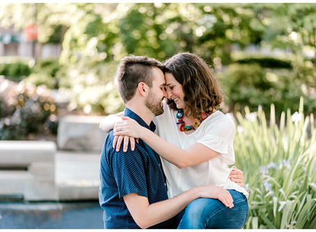 A Purdue Engagement | Indiana Wedding Photographer | Lafayette, IN