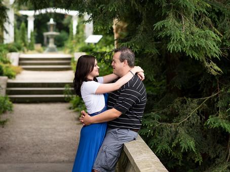 Newfields Engagement Session | Indianapolis Wedding Photographer | Jeff & Lisa