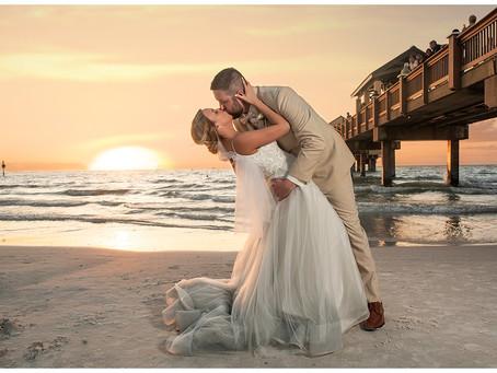 A Clearwater Beach Wedding  | Florida Wedding Photographer | Clay & Hannah