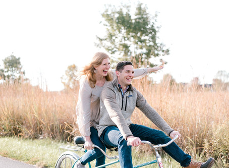 A Lafayette Celery Bog engagement session | Indianapolis Wedding Photographer | Josh & Megan
