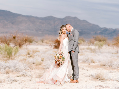 Nevada Desert Wedding | Indianapolis Wedding Photographer | Dilyana & Tyler