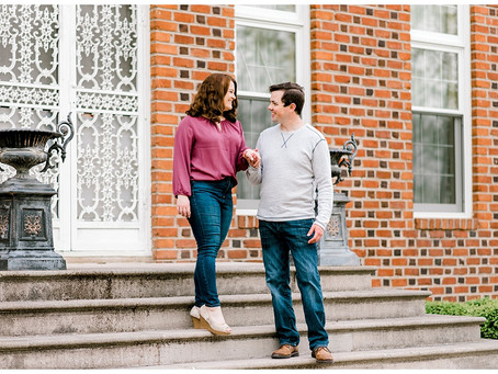 A Cox Hall Gardens Engagement| Indiana Wedding Photographer | Indianapolis, IN