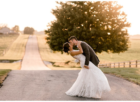 A Romantic Summer Wedding  | Indiana Wedding Photographer | Cassidy & Cam