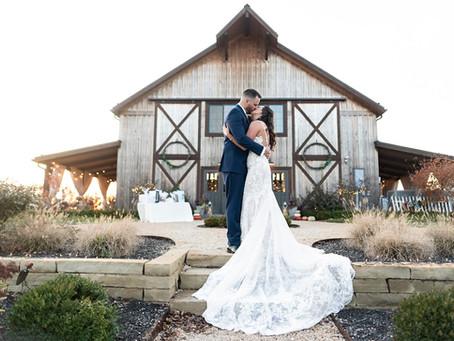 The Barn at Crystal Spring Farm Wedding  | Indianapolis Wedding Photographer | Steve & Maria