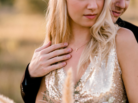 A Golden Couples Session | Indiana Wedding Photographer | Dalton & Jillian