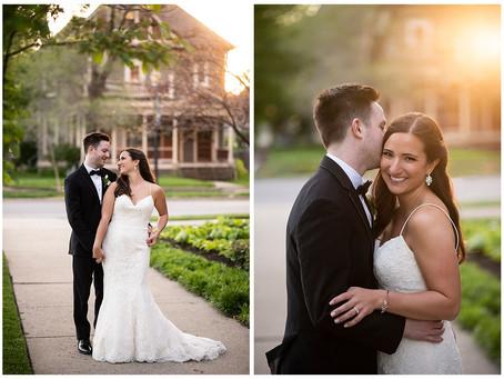 A Romantic City Wedding    Indiana Wedding Photographer   Matt & Ally