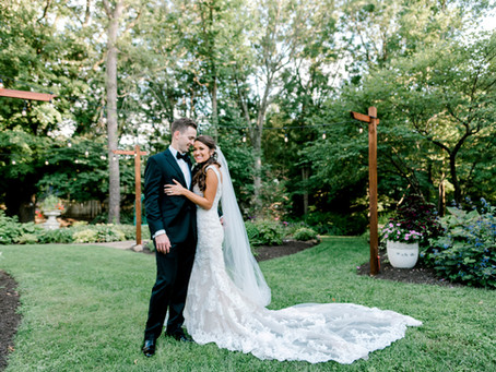 Avon Gardens Wedding | Indianapolis Wedding Photographer | Marcus & Courtney