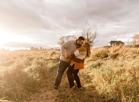 An Indiana fall engagement Session | Indianapolis Wedding Photographer | Jake & Sarah