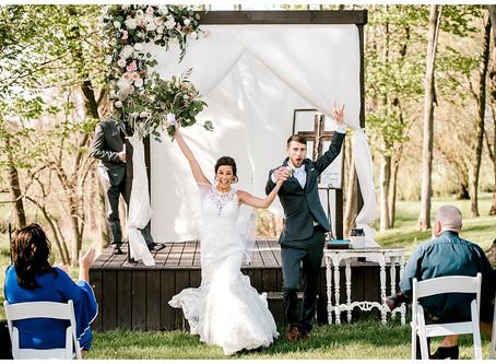 A Social Distanced Wedding  | Indiana Wedding Photographer | Cassidy & Cam