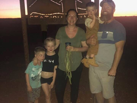 Australian outback, unique Au Pair experience with nice and caring host family from April 2020.