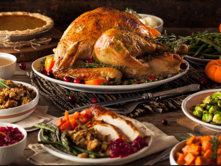How to stay on track with your diet over Thanksgiving