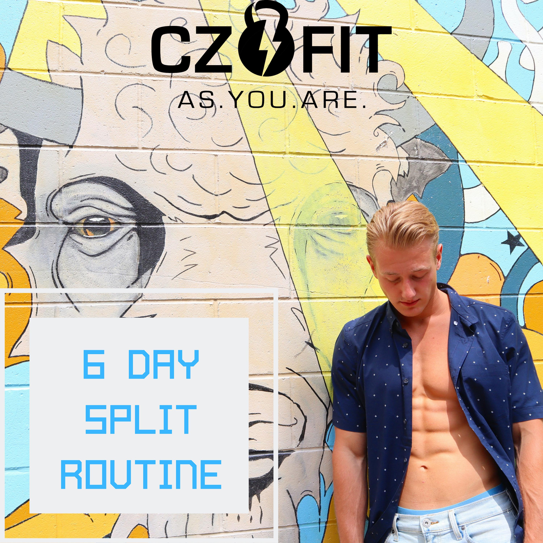 6 Day Workout Program (MEN)
