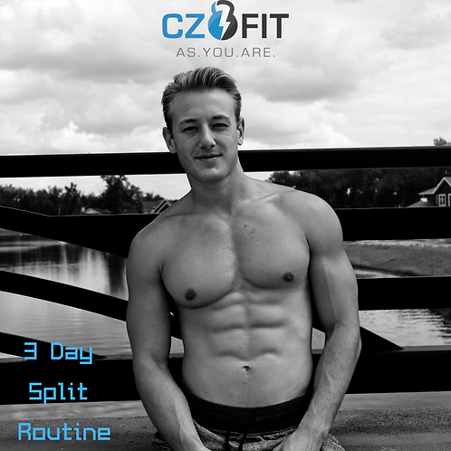 3 Day Workout Program (MEN)
