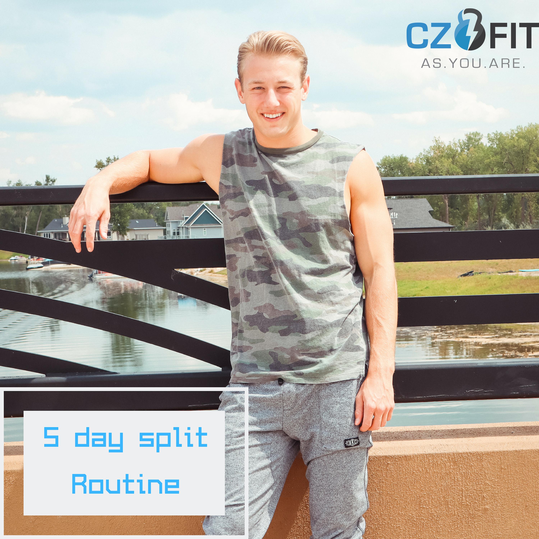 5 Day Workout Program (MEN)