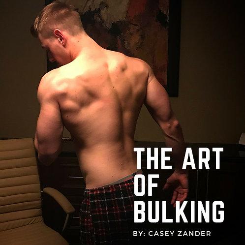 CZ Fitness Art of Bulking E-Book