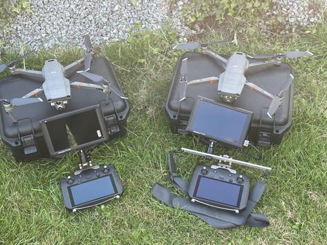 Endlich ist sie da: Die DRITTE Drohne