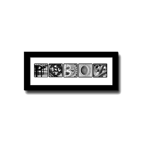 5-LETTERS (framed)