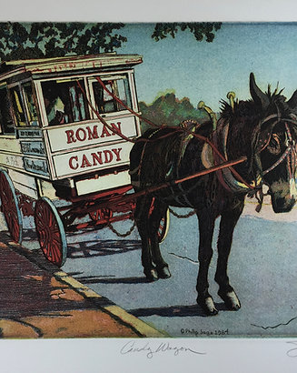 Roman Candy Wagon