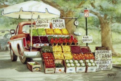 City Park Produce Truck
