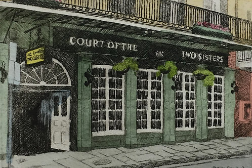 Court of Two Sisters (Color)