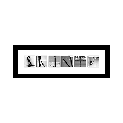 6-LETTERS (framed)