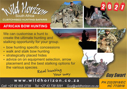 Wild Horizon South Africa - Bow package.