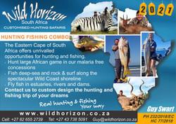 Wild Horizon South Africa - hunting fishing
