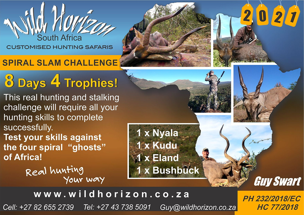 Wild Horizon Spiral Slam Challenge South Africa