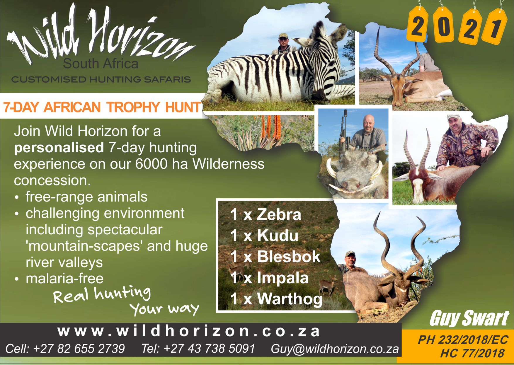 Wild Horizon South Africa - 7 Day Hunt