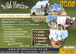 Wild Horizon South Africa - 7 Day Hunt